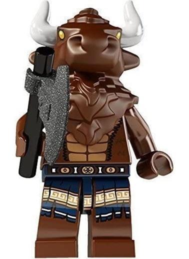 Lego Lego Minifigür - Seri 6 - 8827 - Bull Man Renkli